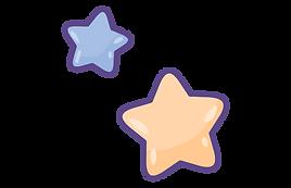 cute stars cartoon