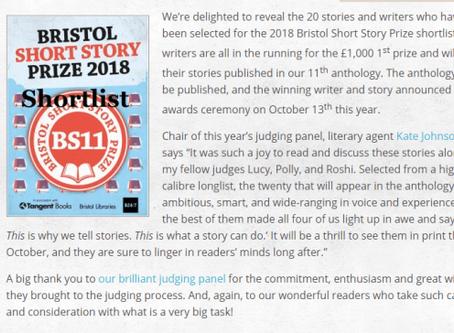 Bristol Prize Shortlist!