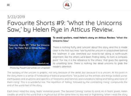 Adam Lock's Favourite Shorts: Review of What The Unicorns Saw
