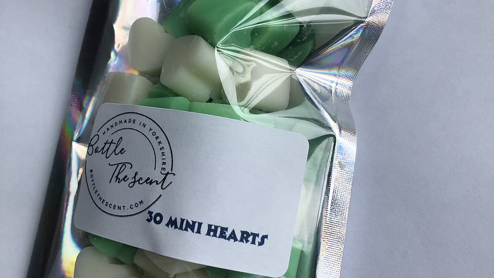 Mini hearts x30 (Coconut and lime)