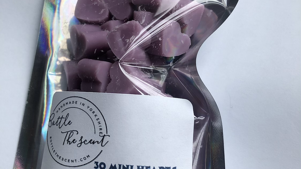 Mini hearts x30 (Parma Violet )