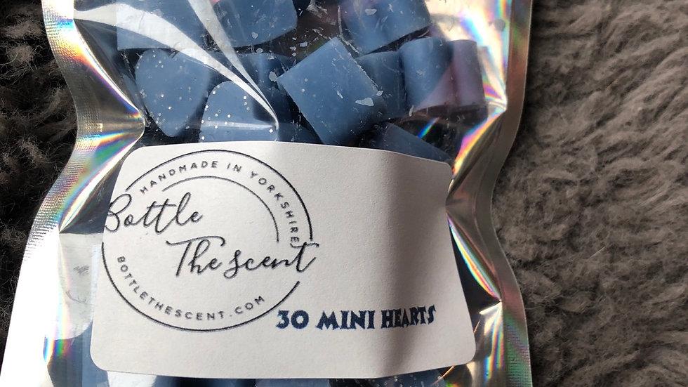mini hearts x30(fresh linen)