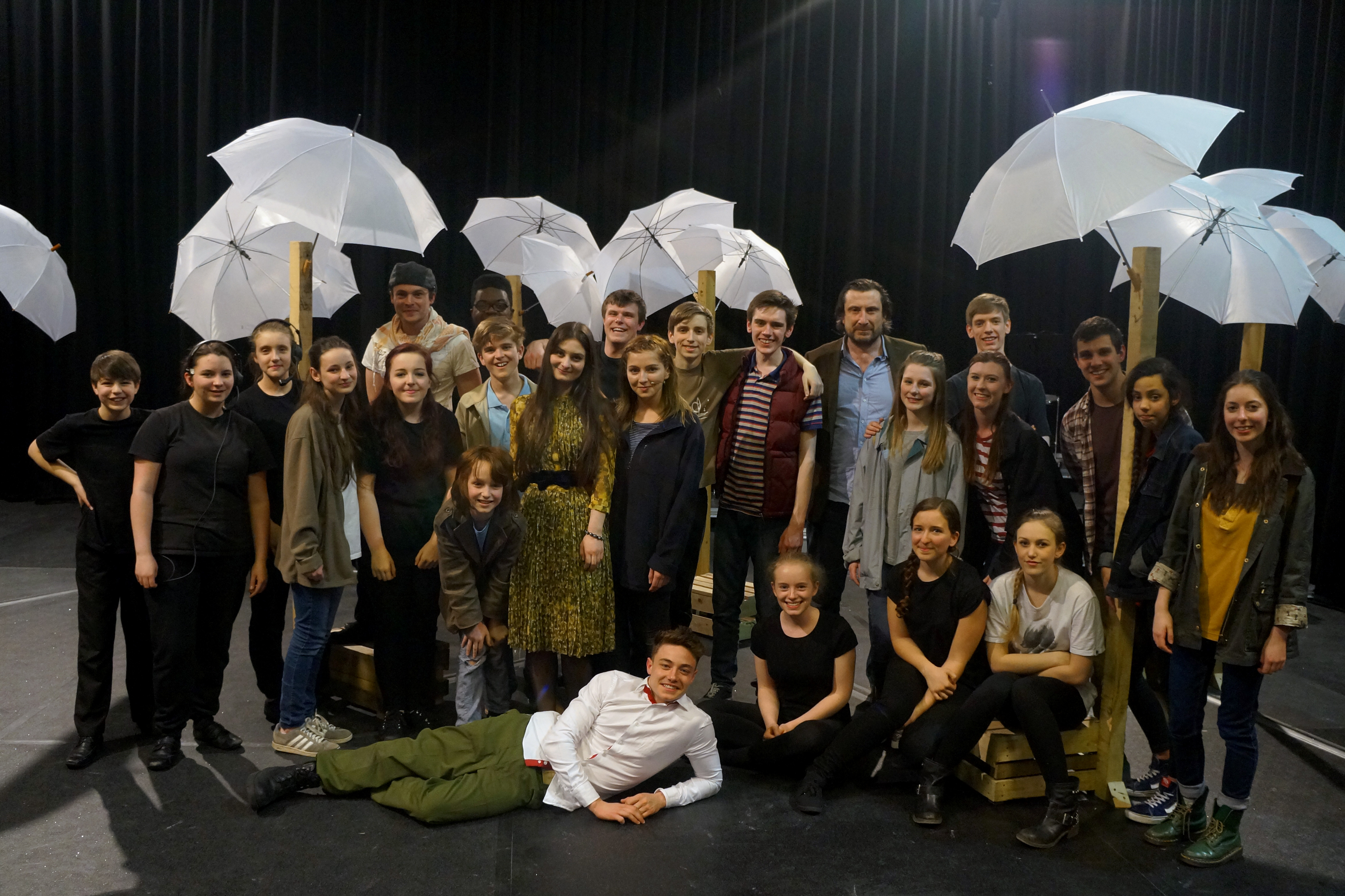 Orchard Cast - Final Night