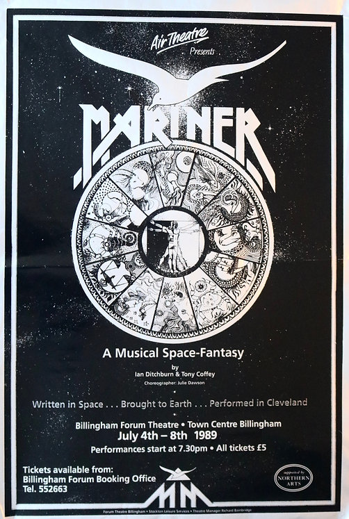 The Marvellous 'Mariner' Poster