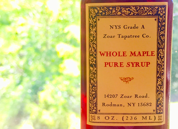 1/2 Pint: Tapatree Whole Maple