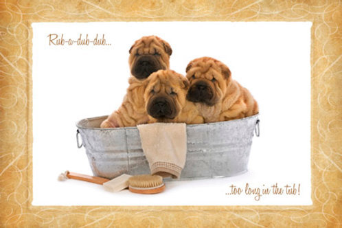 Shar-Pei Notecards
