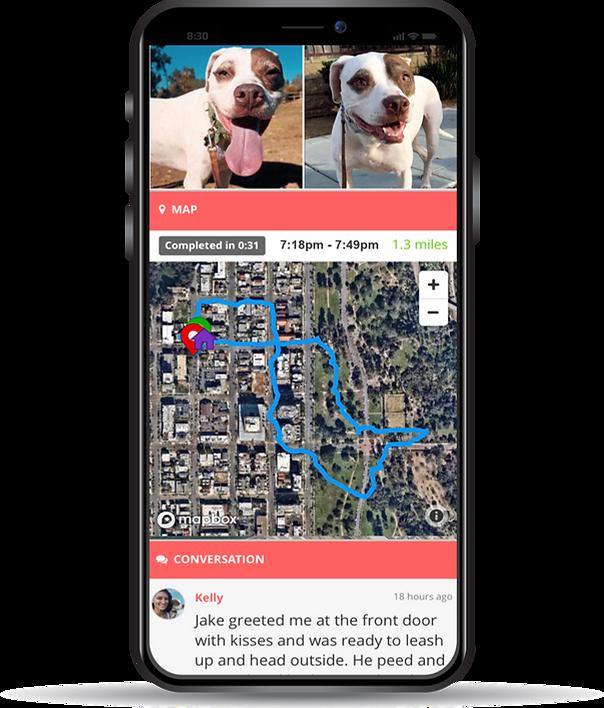 San Diego GPS online pet journal