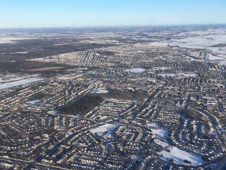 Afternoon Flight over Ottawa