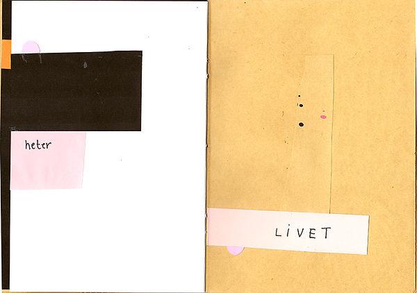 Collageboken sidorna 22-23