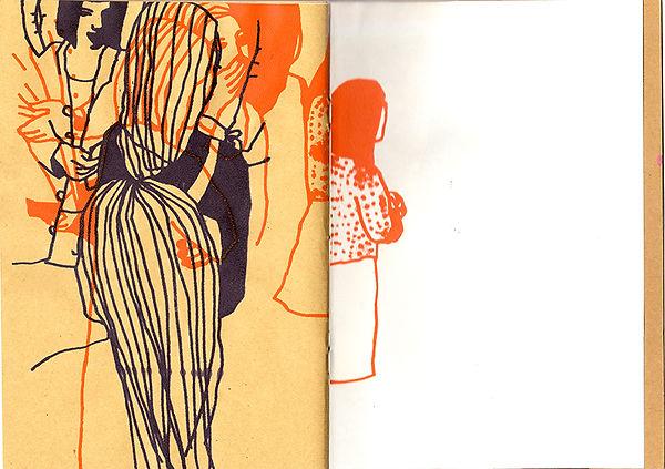 Collageboken sidorna 28-29
