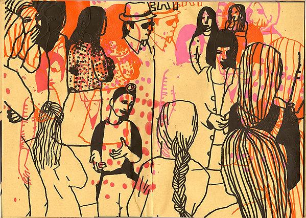 Collageboken sidorna 16-17