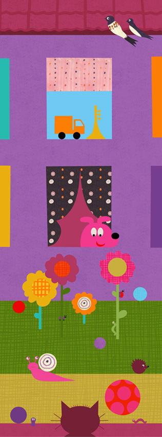 Busiga djur / Katt och hund
