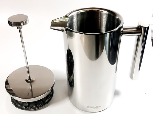 Mueller French Press Stainless Steel