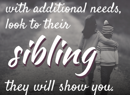 My top 10 tips for sibling support