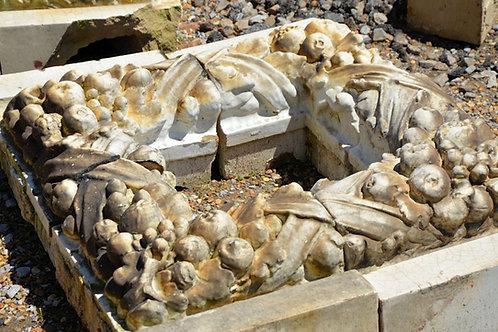 Decorative stones, L shaped