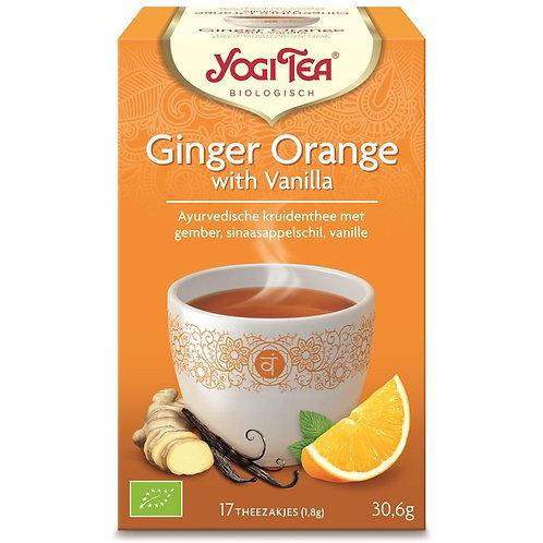 Ginger orange thee