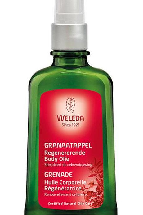 Granaatappel regeneratie olie