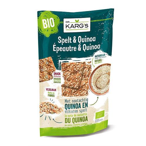 Spelt-quinoa snack