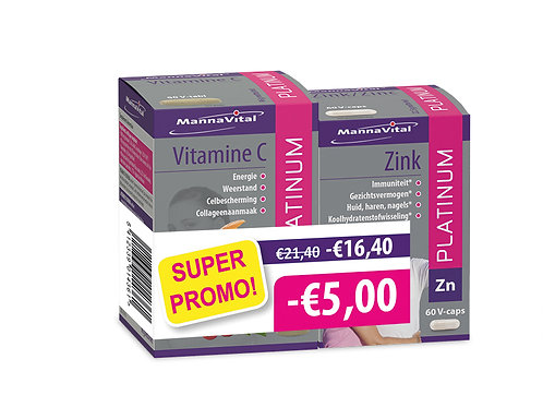 Vitamine C & Zink DUOPACK