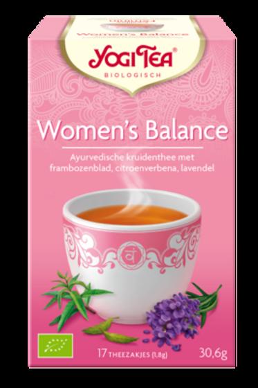 Woman's balance thee