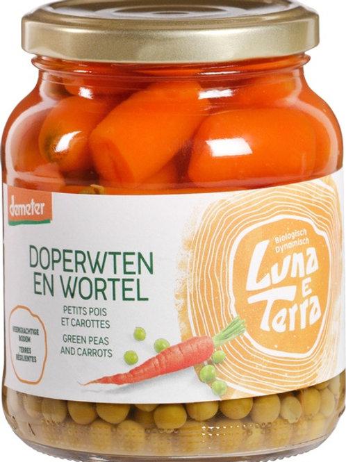 Doperwten-wortelen