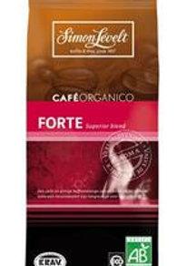 Cafe forte gemalen koffie