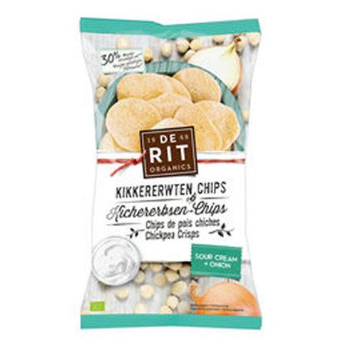 Kikkererwten chips sour cream