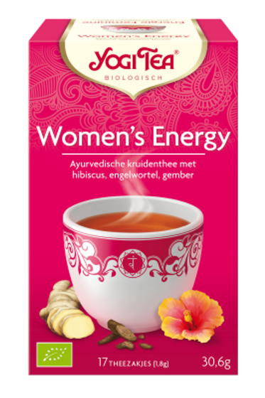 Woman's energy thee