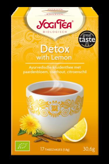 Lemon detox thee