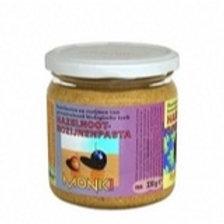 Hazelnoot-rozijnpasta