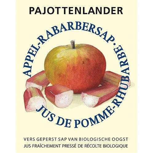 Appel-rabarbersap