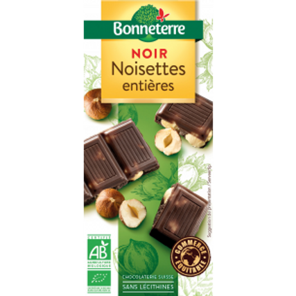 Chocolade puur-hazelnoot