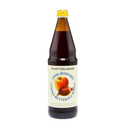 Appel-rode bietsap