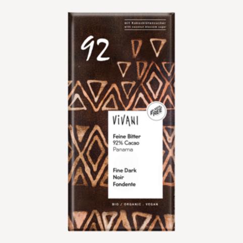 Chocolade puur 92%