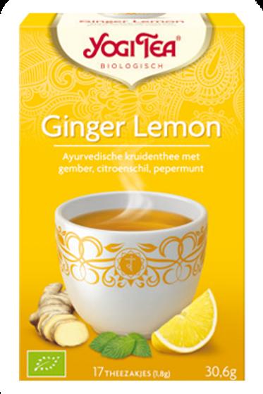 Ginger lemon thee
