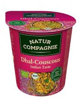 Vegan Dahl Indian couscous