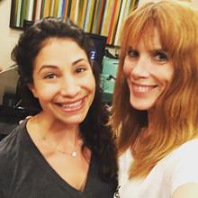 Jennifer with Larissa Wohl