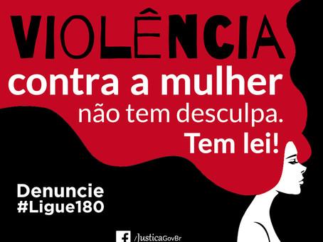 Buscando ajuda para vítimas de violência contra mulheres. Ligue 180!