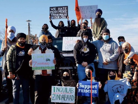 THOUSANDS OF SIKHS JOIN RALLY IN CALIFORNIA AS STUDENTS RAISE THEIR VOICES FOR FARMERS IN PUNJAB