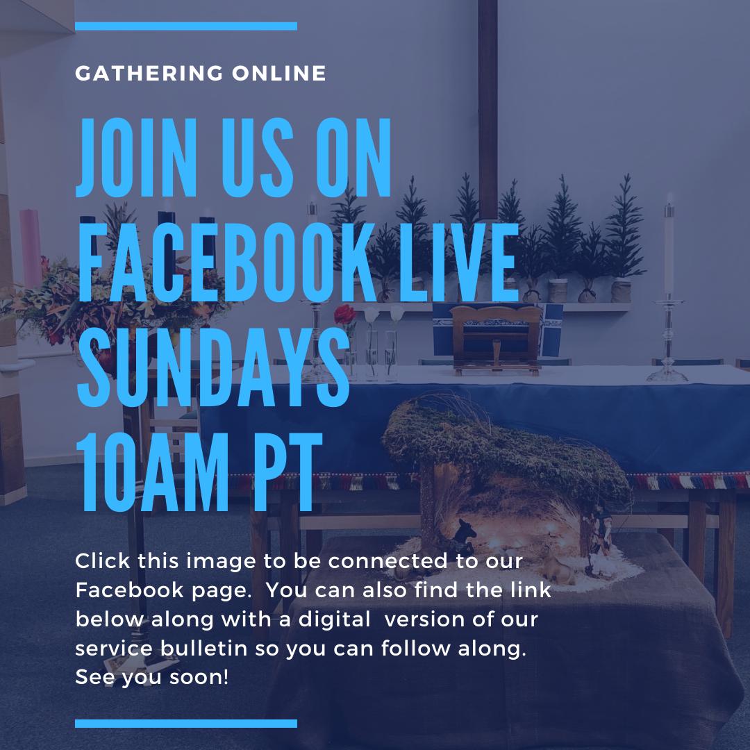 Advent gathering online