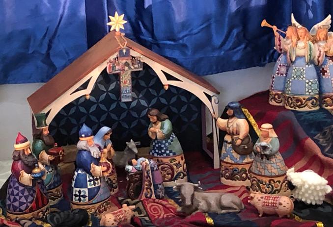 Linda Weifenbach: Jim Shore Nativity