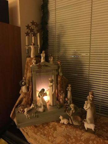 Mary Mercogliano: Willow Tree Nativity