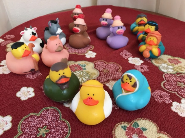 Judy Ferkel: Rubber Duckies Nativity!