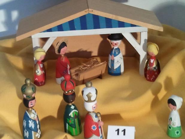 Flo Krejci: Danish Nativity, 50+ years old!
