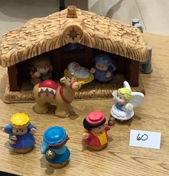Fisher Price:Unbreakable Nativity!