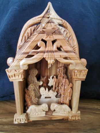 The Higginbotham-Charron Family: Bethlehem Olive Wood (2012)