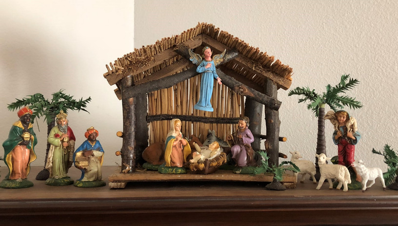 The Warburtons: Nativity from mid-1950s