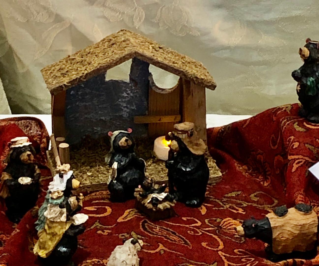 Linda Weifenbach: Black Bear Nativity