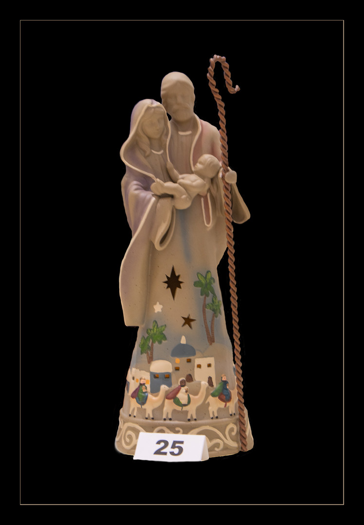 Flo Krejci: Holy Family, by Jim Shore