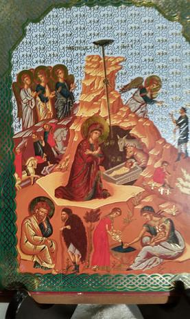 The Higginbothams: Nativity Icon from Bethlehem (2012)